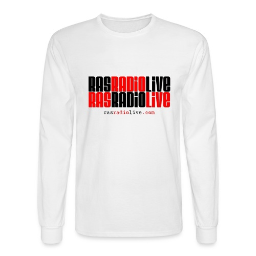 rasradiolive png - Men's Long Sleeve T-Shirt