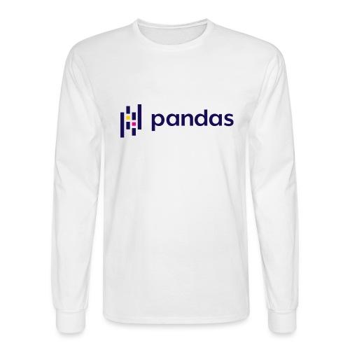 Pandas Logo for Spreadshirt - Men's Long Sleeve T-Shirt