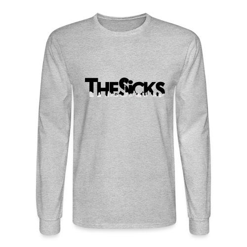 The Sicks - logo black - Men's Long Sleeve T-Shirt