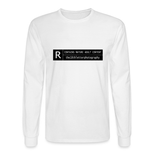 rated r - Men's Long Sleeve T-Shirt