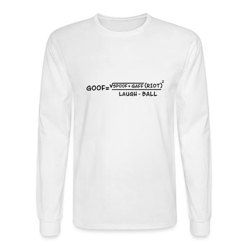 gaff text3 - Men's Long Sleeve T-Shirt
