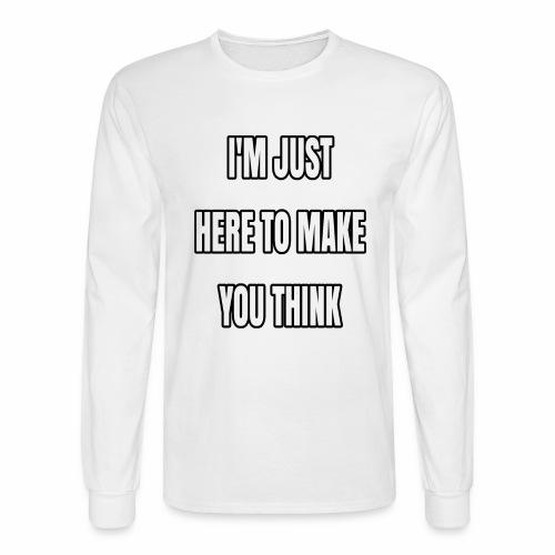 IJHTMYT (White Font) - Men's Long Sleeve T-Shirt