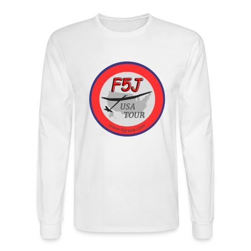 F5J USA Tour logo, front side only - Men's Long Sleeve T-Shirt