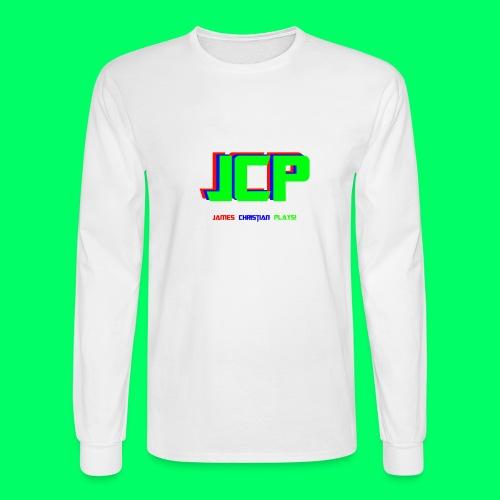 James Christian Plays! Original Set - Men's Long Sleeve T-Shirt