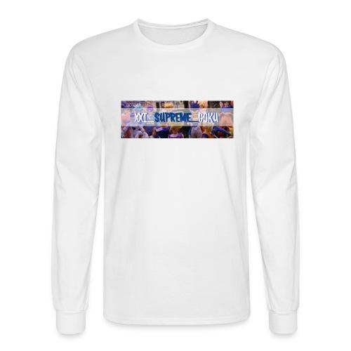 XXI SUPREME GOKU LOGO 2 - Men's Long Sleeve T-Shirt