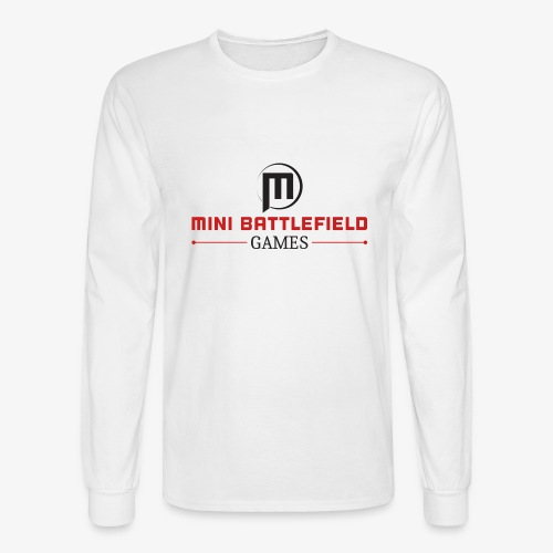 Mini Battlefield Games Logo - Men's Long Sleeve T-Shirt