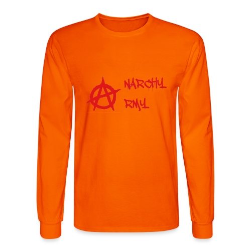 Anarchy Army LOGO - Men's Long Sleeve T-Shirt