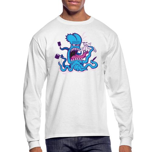Powder blue Extreme Cooking Long Sleeve Shirts - Men's Long Sleeve T-Shirt