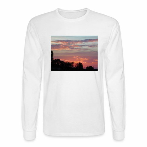 Sunset of Pastels - Men's Long Sleeve T-Shirt
