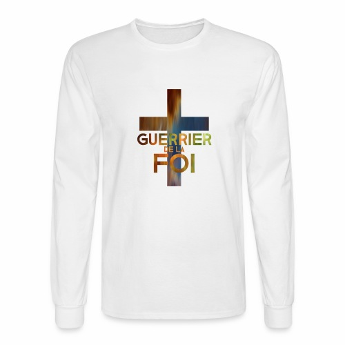 WARRIOR OF FAITH - Men's Long Sleeve T-Shirt