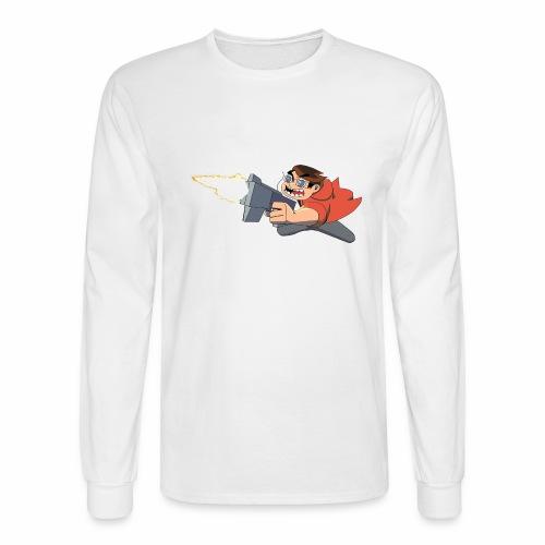Funnerdiction Shoot em up - Men's Long Sleeve T-Shirt