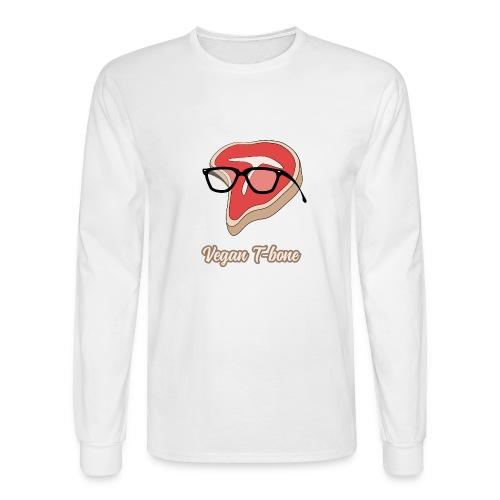 Vegan T bone - Men's Long Sleeve T-Shirt