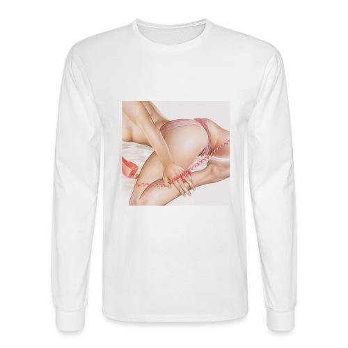On da phone - Men's Long Sleeve T-Shirt