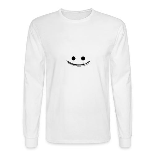 Smile - Men's Long Sleeve T-Shirt