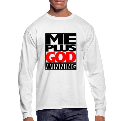 ME GOD WIN - Men's Long Sleeve T-Shirt