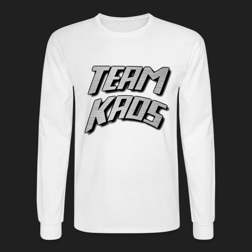 teamkaossteel4k png - Men's Long Sleeve T-Shirt
