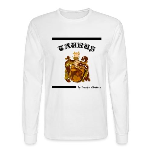 TAURUS BLACK - Men's Long Sleeve T-Shirt