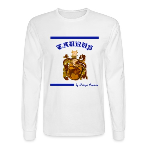 TAURUS BLUE - Men's Long Sleeve T-Shirt