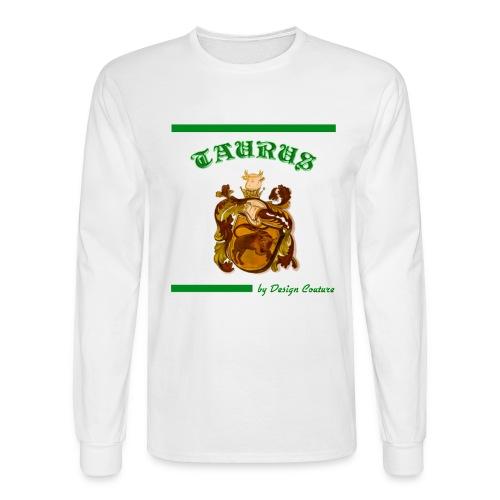 TAURUS GREEN - Men's Long Sleeve T-Shirt