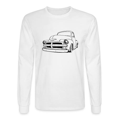1954 Custom Truck - Men's Long Sleeve T-Shirt