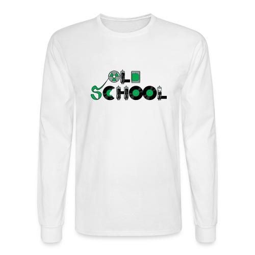 Old School Music - Men's Long Sleeve T-Shirt
