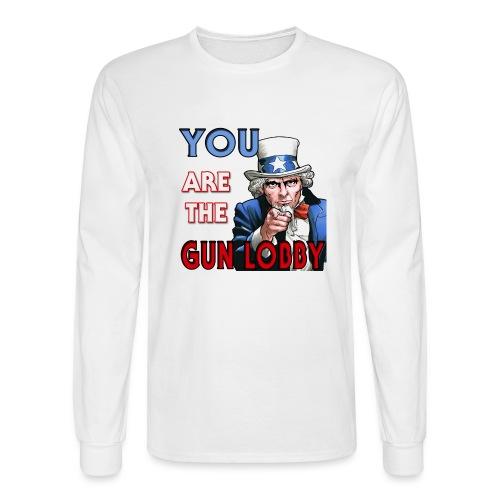YOU Are The Gun Lobby - Men's Long Sleeve T-Shirt