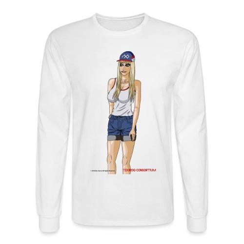 Gina Character Design - Men's Long Sleeve T-Shirt