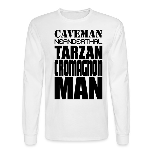 caveman5 - Men's Long Sleeve T-Shirt