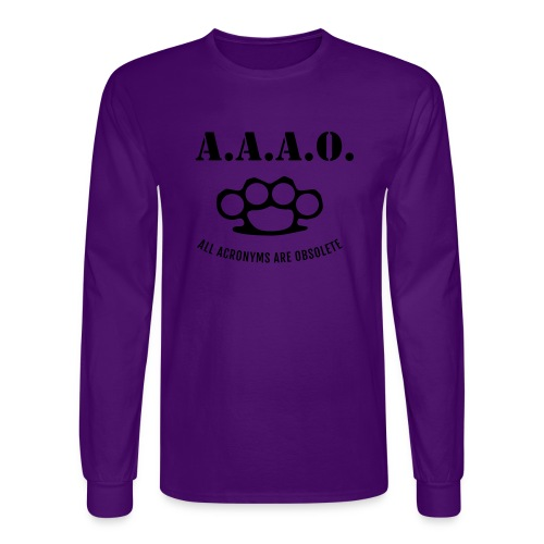 A.A.A.O. - Men's Long Sleeve T-Shirt