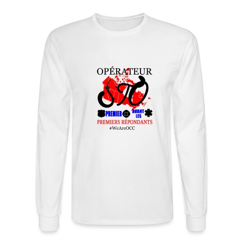 Operateur STO plus size - Men's Long Sleeve T-Shirt