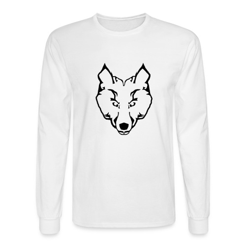 Woolf Image - Men's Long Sleeve T-Shirt