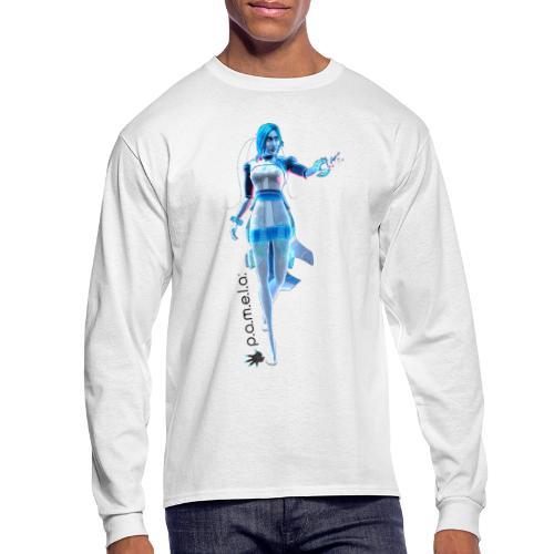P.A.M.E.L.A. Figure - Men's Long Sleeve T-Shirt