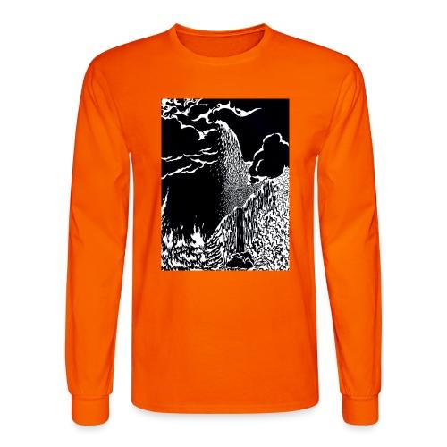 elemental negative - Men's Long Sleeve T-Shirt