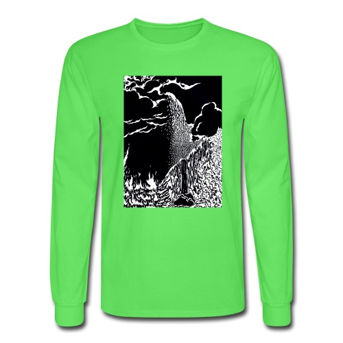 elemental negative - Men's Long Sleeve T-Shirt