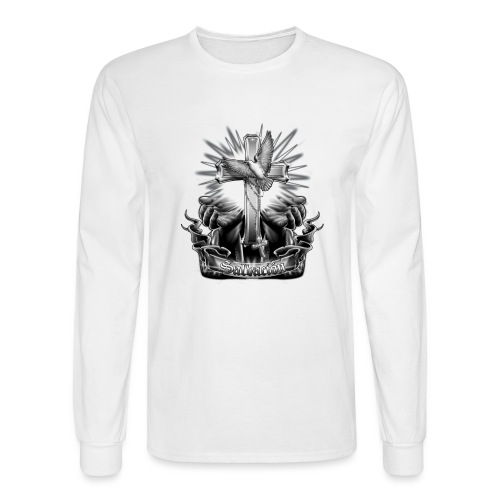 Salvacion by RollinLow - Men's Long Sleeve T-Shirt