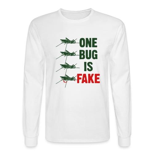 Fly Fishing Hopper - Men's Long Sleeve T-Shirt