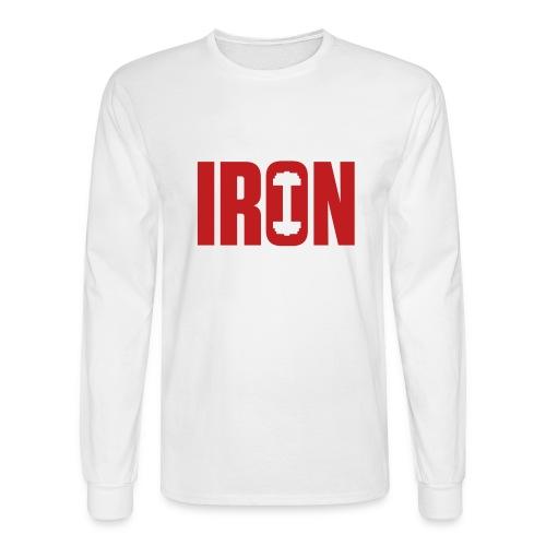 IRON WEIGHTS - Men's Long Sleeve T-Shirt