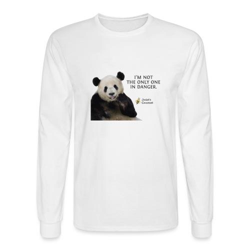 Endangered Pandas - Josiah's Covenant - Men's Long Sleeve T-Shirt