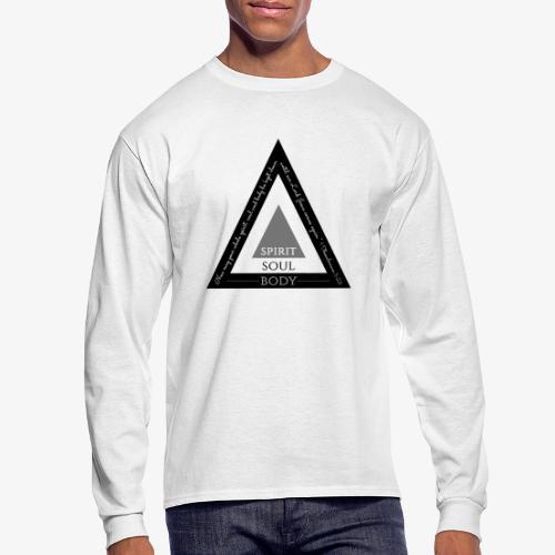Spirit Soul Body - Men's Long Sleeve T-Shirt