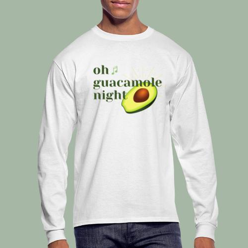 Oh Guacamole Night - Men's Long Sleeve T-Shirt