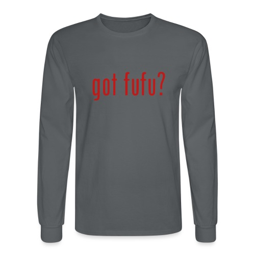 gotfufu-black - Men's Long Sleeve T-Shirt