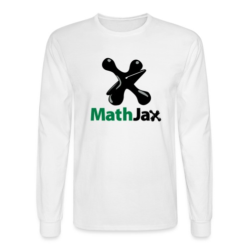 MathJax - Men's Long Sleeve T-Shirt