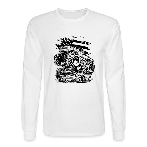 Monster Truck USA - Men's Long Sleeve T-Shirt