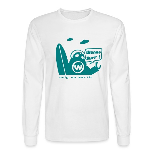 spreadshirtalienv2 - Men's Long Sleeve T-Shirt