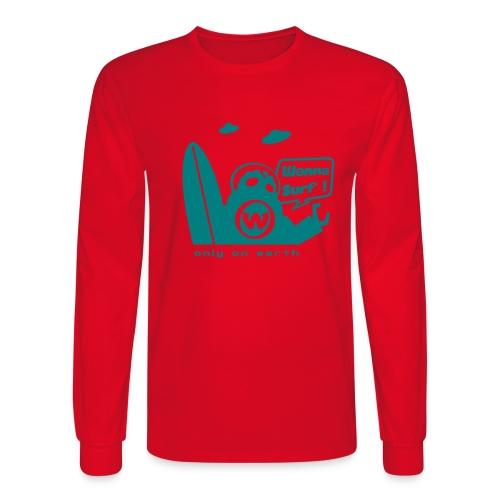 spreadshirtalienv2 - Men's Long Sleeve T-Shirt