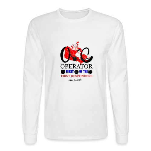 We Are OCC Plus Size - Men's Long Sleeve T-Shirt