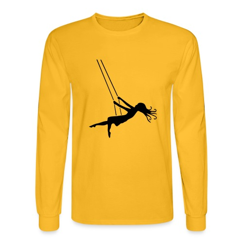 Swinging Girl - Men's Long Sleeve T-Shirt