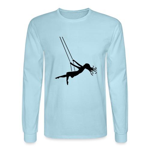 Swinging Girl - Men's Long Sleeve T-Shirt