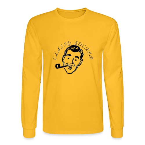 Classy Fucker - Men's Long Sleeve T-Shirt