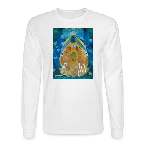 Cosmic Shakti Design by Arathi Ma - Men's Long Sleeve T-Shirt